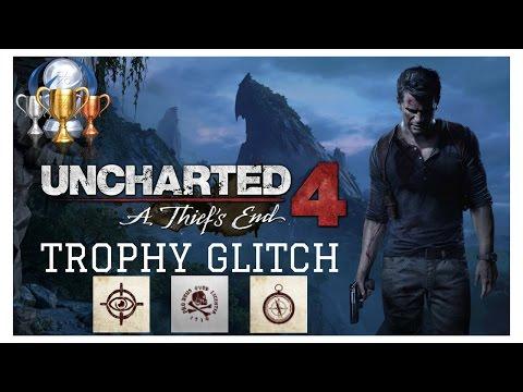 Uncharted 4 Speedrun Trophy Glitch 2017