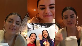 Selena Gomez talk about new album, chatting with Fans, Benny Blanco and Tainy