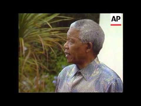 South Africa - Mandela on Mobuto