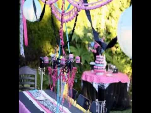 Diy Teenage Girl Birthday Party Decorating Ideas Youtube