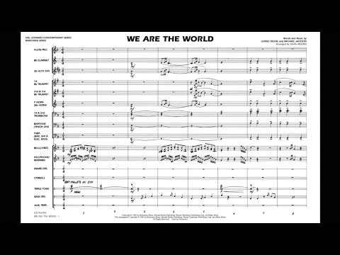 We Are the World arranged by John Higgins
