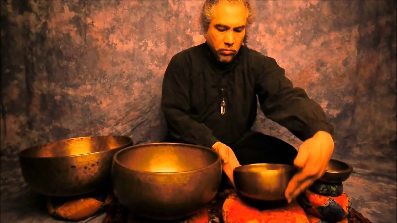 Meditation Root Chakra With Tibetan Singing Bowls Youtube