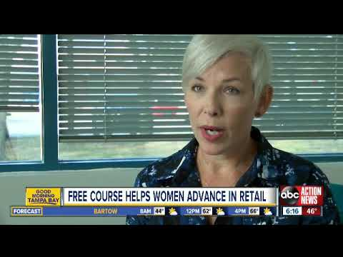 'Dress for Success' program helping women move up the retail ladder