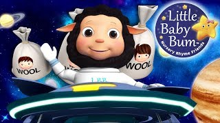 Baa Baa Black Sheep | Learn with Little Baby Bum | Nursery Rhymes for Babies | Songs for Kids