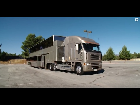 Celebrity Motor Homes Will Smith 2 Story Trailer