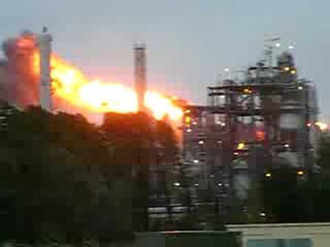DOW CHEMICAL PLANT AFTER GUSTAV!