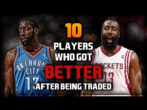 10 NBA Players Who Got BETTER After Being Traded (ft. MDJ)