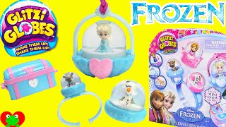 Disney Frozen Glitzi Globes with Elsa, Olaf, Kristoff, and Sven