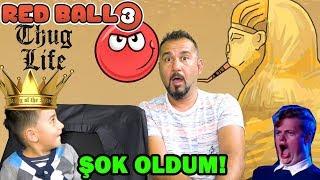 HİLE YAPTI ŞOK OLDUM!? | REDBALL 3 KIRMIZI TOP OYNUYORUZ