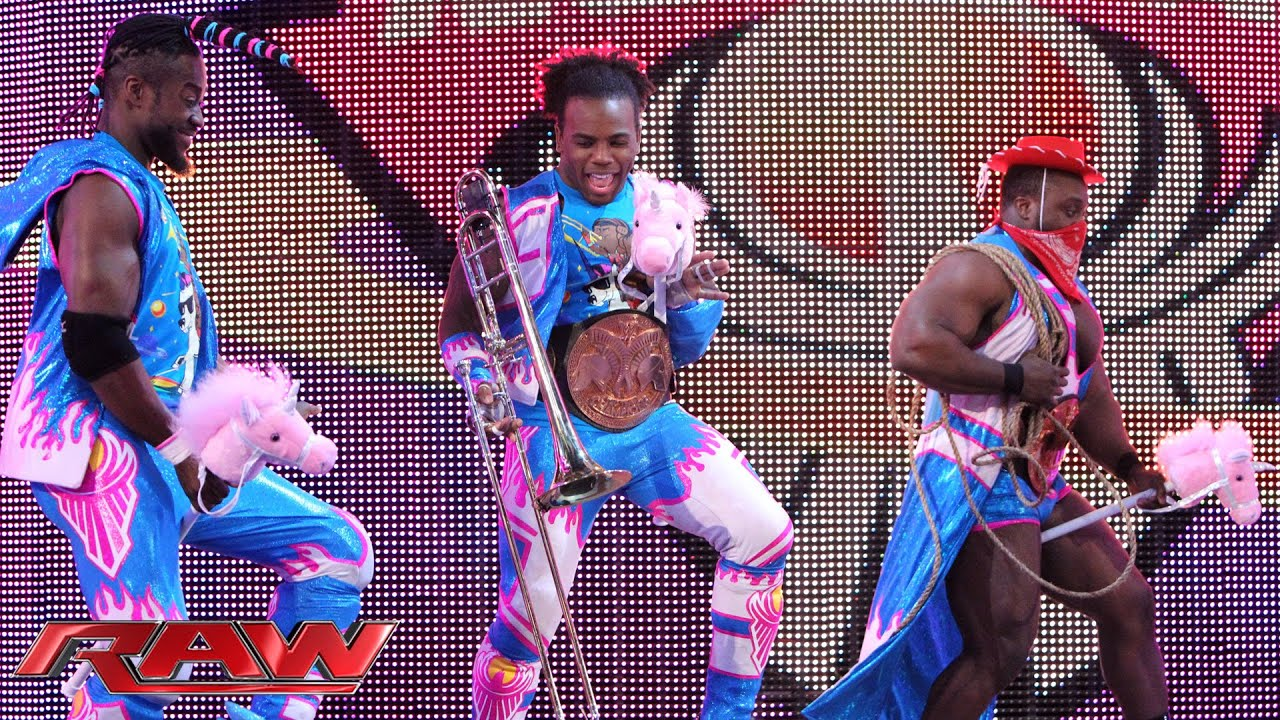 The New Day's First Anniversary In-Ring Country Music