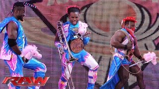 The New Day S First Anniversary In Ring Country Music Jamboree Raw November 23 2015