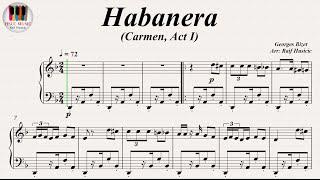 Video Habanera, Carmen, Act I (L'amour est un oiseau rebelle) - Georges Bizet, Piano download MP3, 3GP, MP4, WEBM, AVI, FLV September 2018