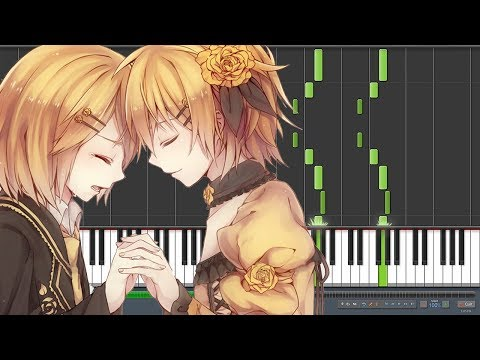 Classical Servant of Evil 悪ノ召使  Kagamine Rin & Len Piano Synthesia, REMASTERED