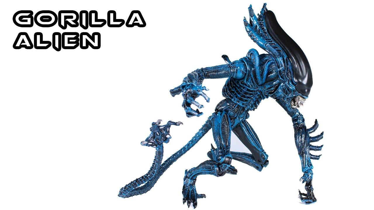 NECA GORILLA ALIEN Xenomorph Action Figure Toy Review ... Gorilla Xenomorph