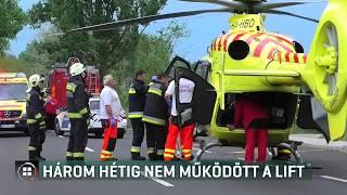 3 hétig nem működött a lift a Szegedi Klinikán - 2019-07-27