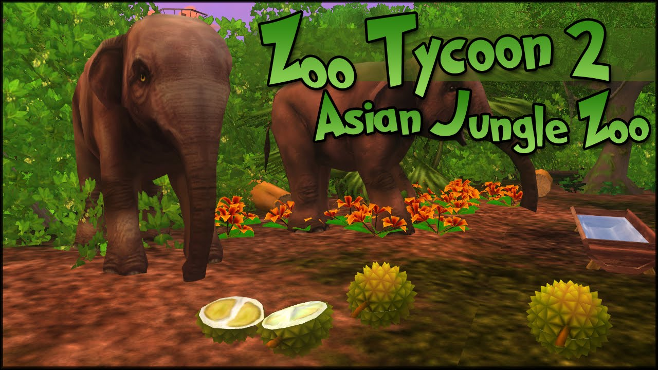 Zoo Tycoon 2    Smelly Durians for Unhappy Elephants - Episode #22    World  Zoo Season 2