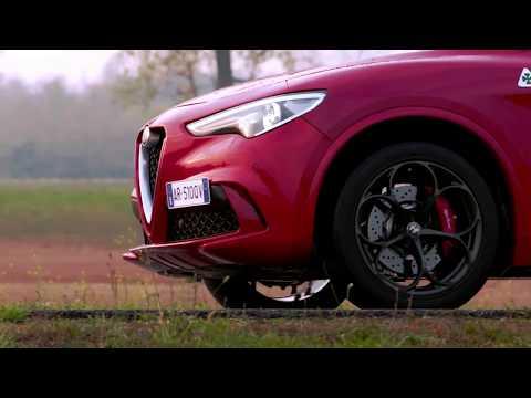 Alfa Romeo Stelvio Quadrifoglio Clip On Track | CarZilla