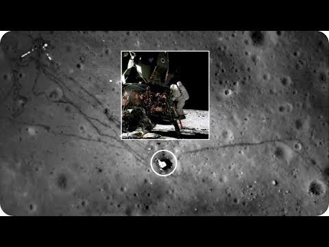 КосмоСториз: Зонд «LRO» ПОСЕЩАЕТ МЕСТА «Apollo»