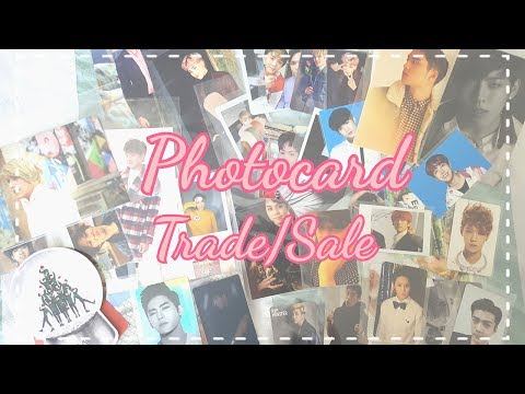 [Collection/Trade/Sale] Kpop Photocards - BTS, BAP, BTOB, EXO, Infinite, Sistar, Monsta X (May 2017)