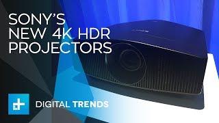 Sony's unveils three Brand-New True 4k Projectors at CEDIA 2017