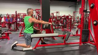 Single Arm Cable Row: Thompson Nutrition Training