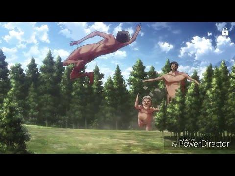 Attack on titan season 2 | drunk titans start running !!
