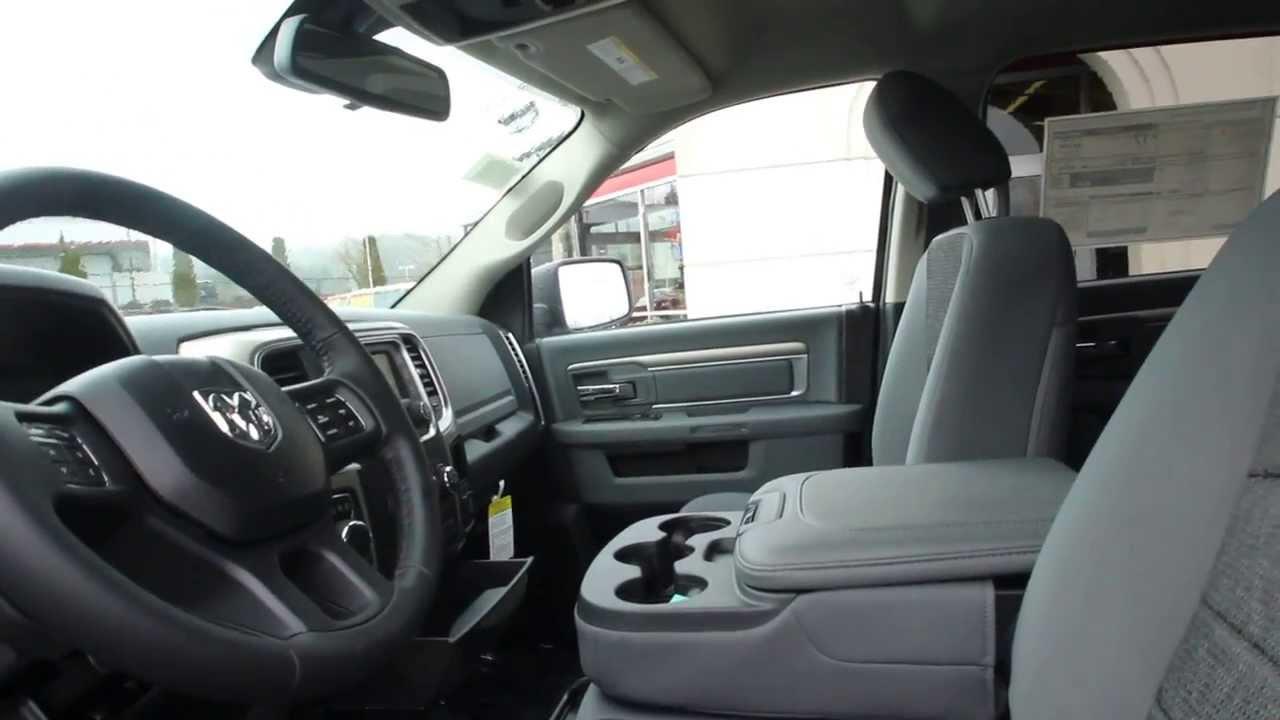 2014 Dodge Ram 1500 Big Horn Crew Cab Silver Es136395