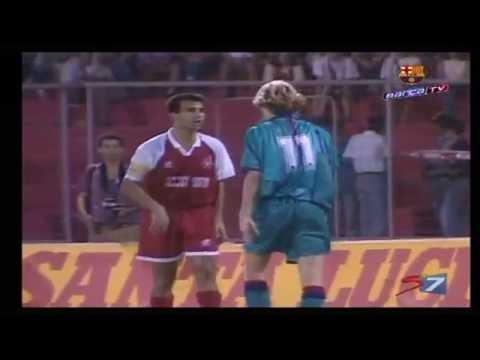Hapoel Beer-Sheva - Barcelona. UEFA Cup. 12.09.1995