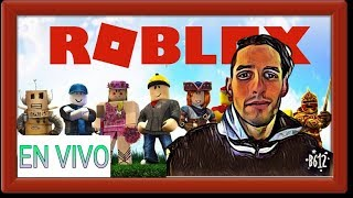 ROBLOX LIVE! * MISSING 3 DAYS FOR THE DRAW OF ROBUX * PLAY WITH SUBSCRIBERS *
