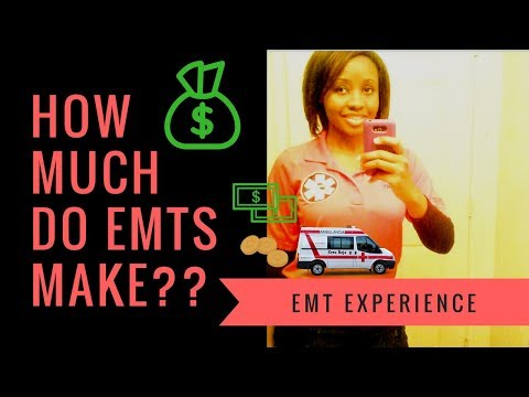 How Much Does An Emt Make >> How Much Money Do Emts Make Youtube