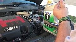 Pontiac G6 Oil Change