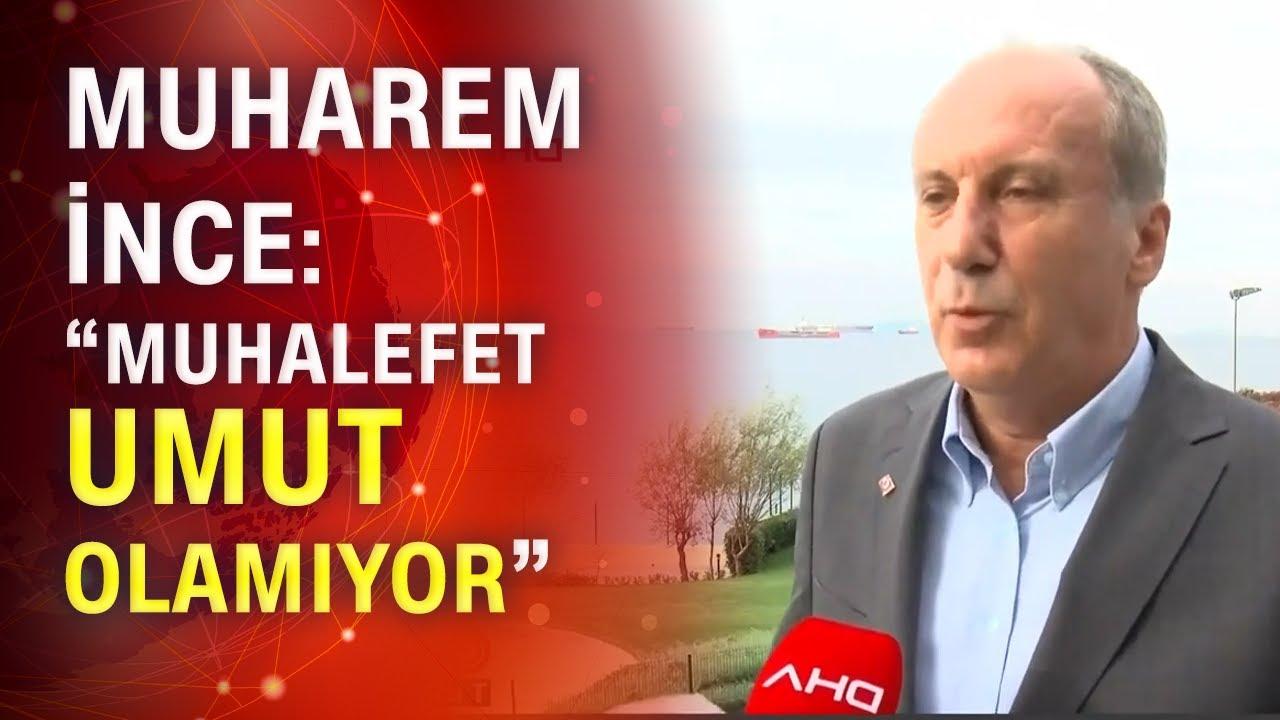 "Muharrem ince: ""CHP'de her gün yeni skandal var"""
