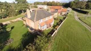 Croft Farm, Snape - Holiday Cottages in Suffolk. Aerial Photography. Drone Video.