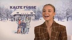 KALTE FÜSSE Interview Sonja Gerhardt - witziges vom Filmset - Backstage - lustig - Spass