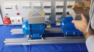 Accouplement des machines électriques ( moteur asynchrone et MCC ) sur la base