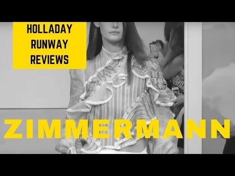 Western Glam! Zimmermann Spring Summer 2017 New York Fashion Week / Candy Holladay Review