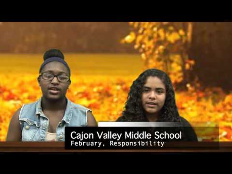 Say No to Marijuana Cajon Valley Middle School