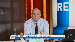 8-Time All-Star Pitcher John Smoltz Talks HOF Induction & Mets Pitching - 7/17/15