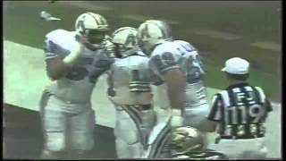 Warren Moon throws a 34 yard touchdown to Ernest Givins against the Saints 1987