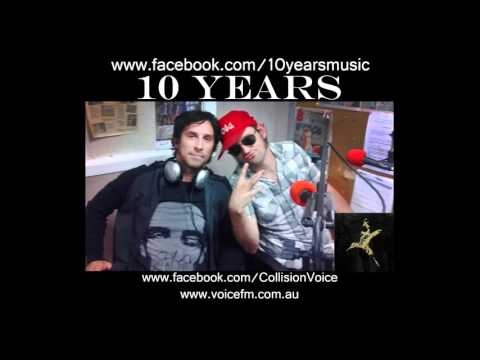 10 Years - Jesse & Tater - in studio Collision Interview