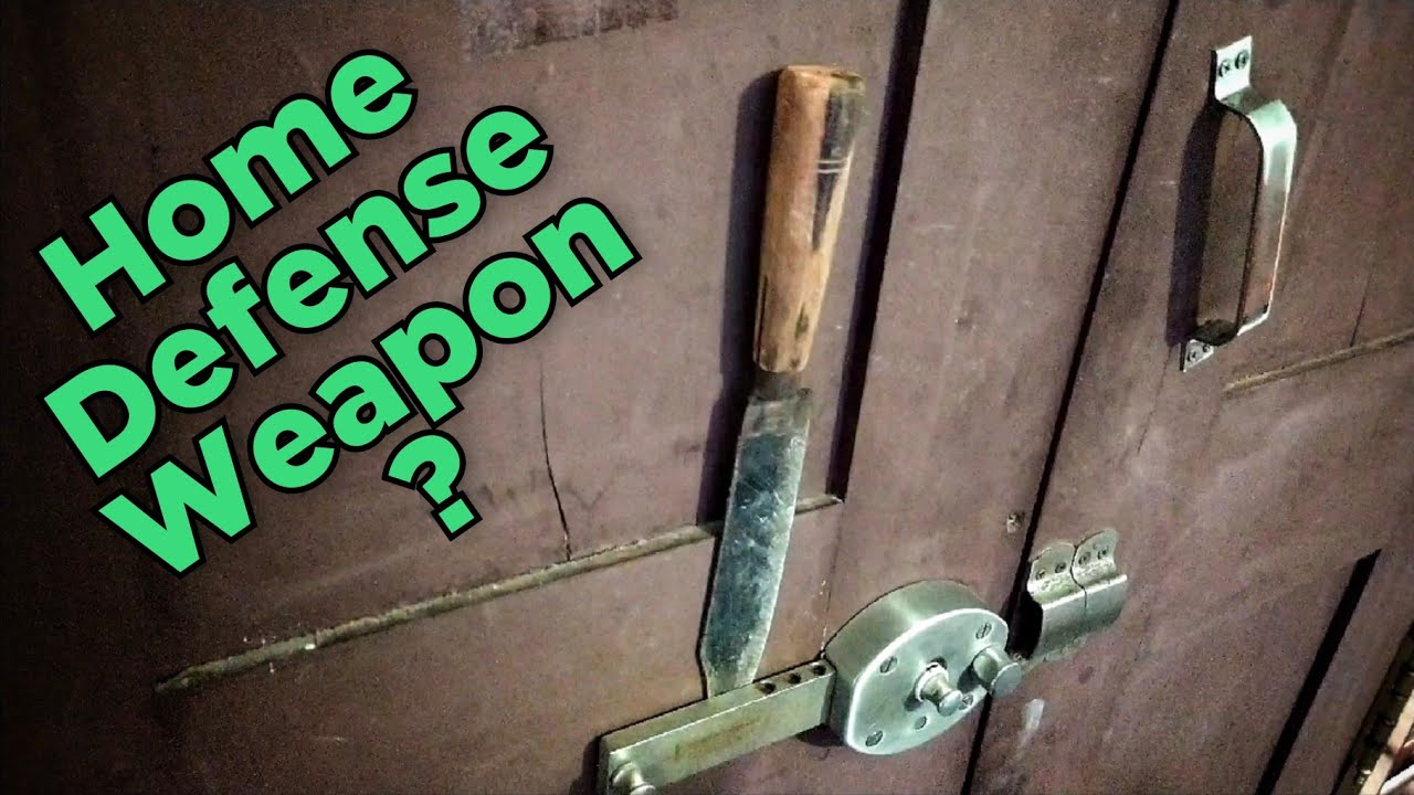Knives For Home Defense ?