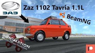 Zaz 1102 Tavria 1.1L Engine Replica In Automation.