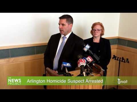 The News Project - Arlington Homicide Suspect Arrested 03.09.17