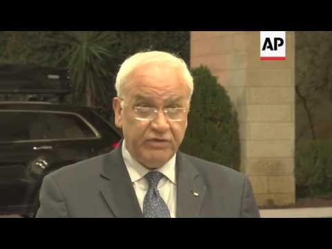 Palestinians conditionally open to peace talks