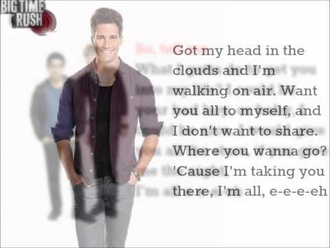 Big Time Rush - Song for You feat. Karmin w/ lyrics
