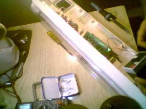 Como cambiar la bateria de la luz de emergencia battery - Como instalar lamparas led ...