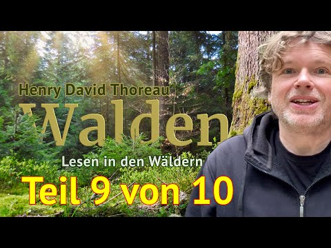 Henry David Thoreau: Walden – Teil 9 von 10 – Das Lesen in den Wäldern