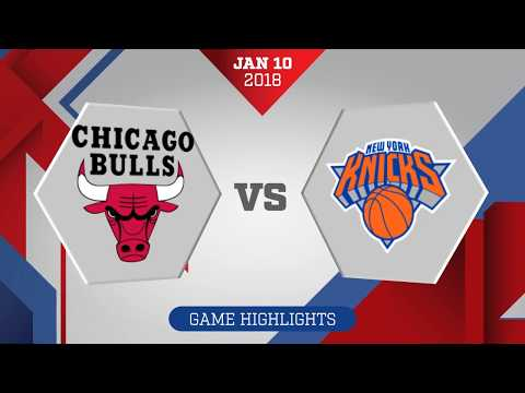 Chicago Bulls vs. New York Knicks - January 10, 2017