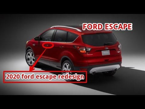 2020 ford escape redesign - YouTube