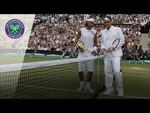 Roger Federer vs Rafael Nadal | 2007 Wimbledon Final | Full Match